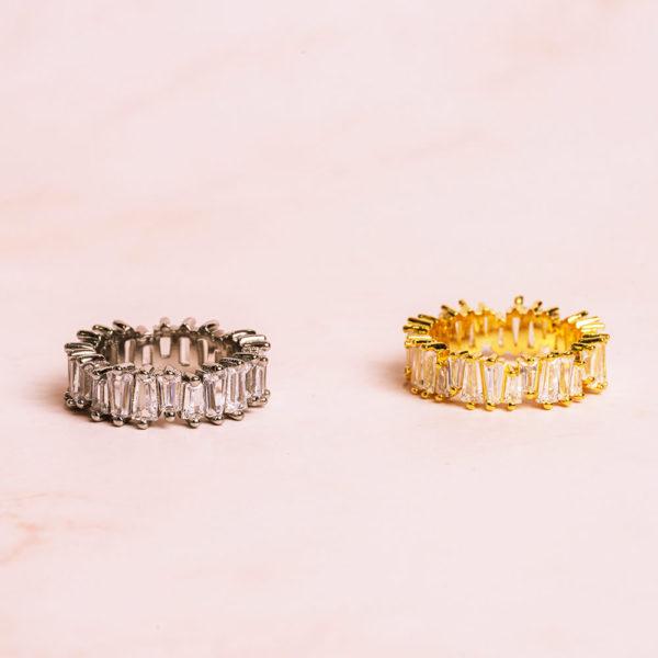 Baguette Rings