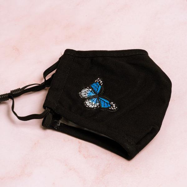 Butterfly Mask Blue-Side
