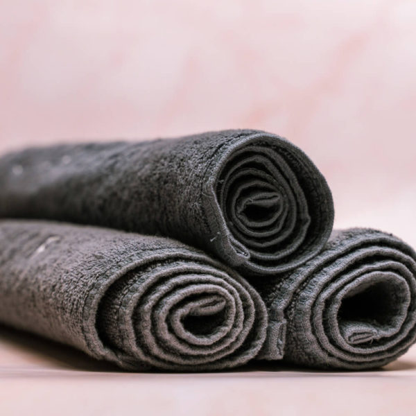 CJ Manicure Towel Rolled