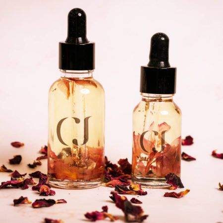 CJ Rose Cuticle Oil