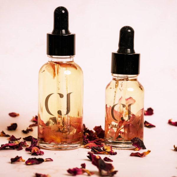 CJ Rose Cuticle Oil