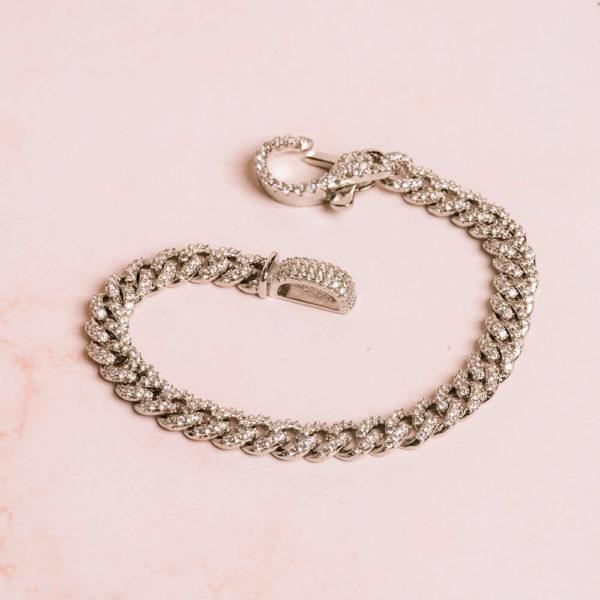 Cuban Chain Silver