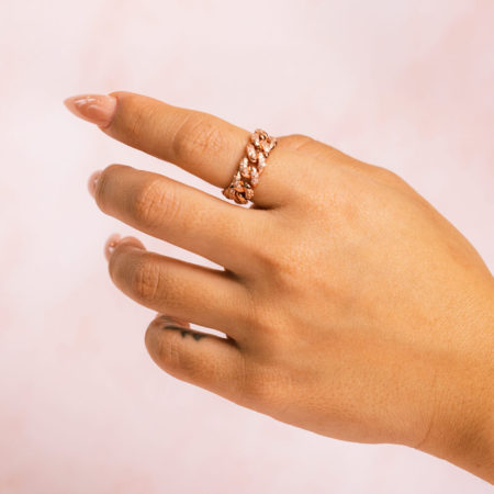 Cuban Rose Ring Hand Model