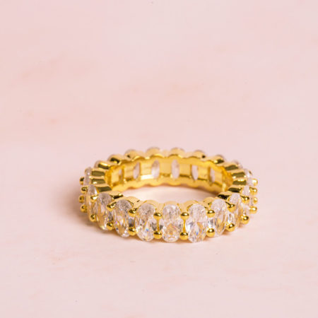 Oval-Cut-Gold-Ring