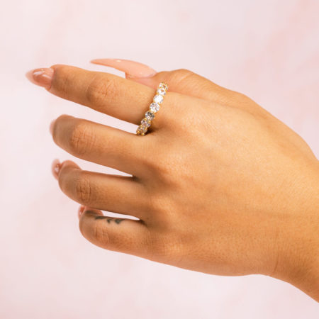 Round Gold Hand Model