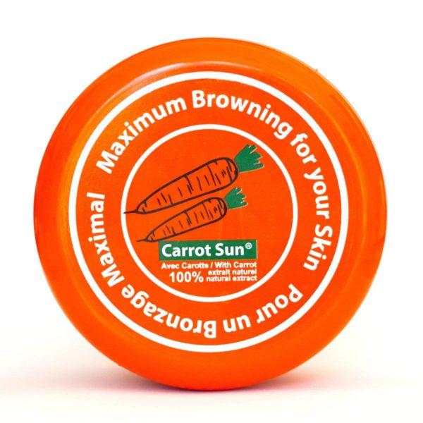 Carrot Sun Cream Container Lid