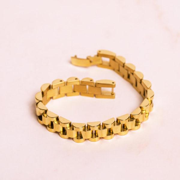 Jubilee Link Gold Bracelet
